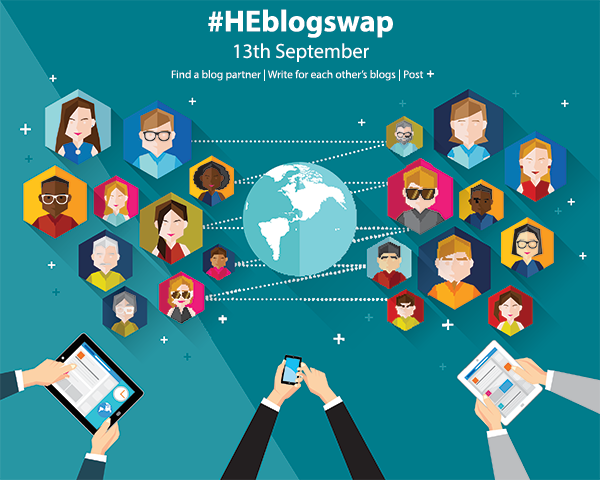 #HEblogswap 13th September graphic